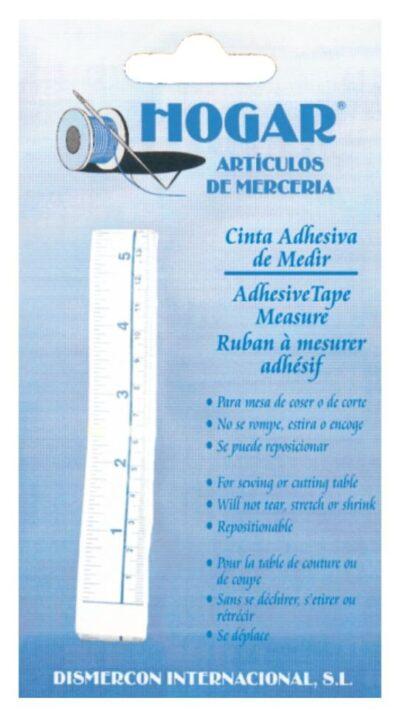 Cinta métrica adhesiva