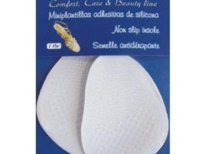 Miniplantillas adhesivas de silicona