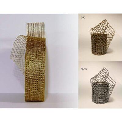 Cinta crochet metal